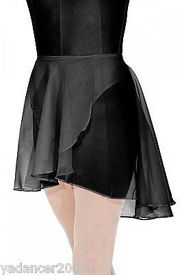 Roch Valley Dance Georgette Wrap Skirt Exam Regulation Uniform Ballet Adult