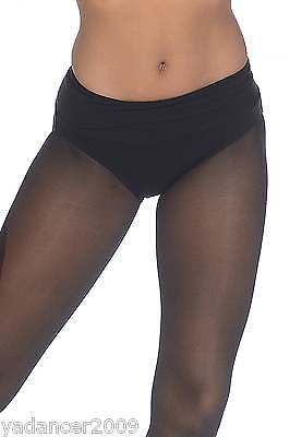 Roch Valley Dance Nix Shorts Hot Pants Foldover Waistband Cotton/Lycra Black