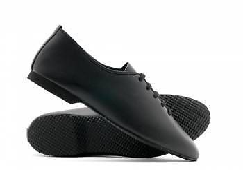 Roch Valley Leather Lace Up Jazz Modern Dance Shoes Full Micro Rubber Soles From £18.99 - delivered UK price